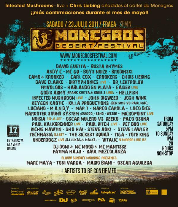 cartel monegros 2011
